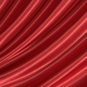 Satin Stoff B1 schwer entflammbar Farbe Rot
