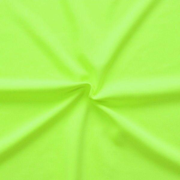 Bi-Stretch Slinky Radler Jersey Neon-Grün