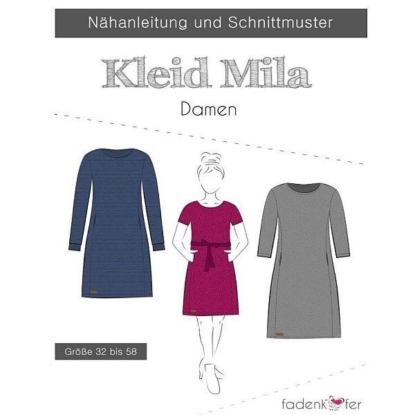 Schnittmuster Kleid Mila Damen