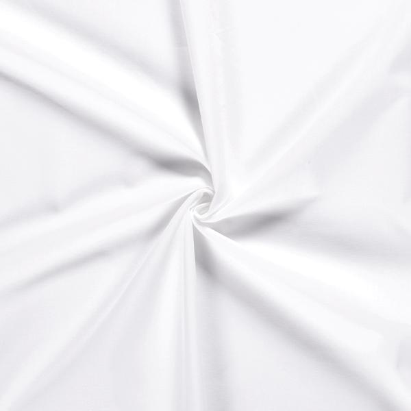Baumwollstoff Cretonne Breite 270cm Weiss