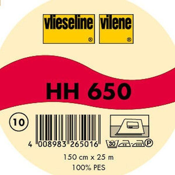 Vlieseline Volumenvlies aufbügelbar Typ HH 650 Farbe Weiss