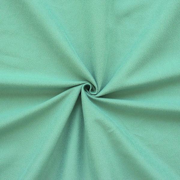 Microfaser Bekleidungs- / Möbelstoff allround Farbe Pastell-Türkis