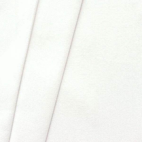 Baumwollstoff Inlett Einschütte Farbe Weiss