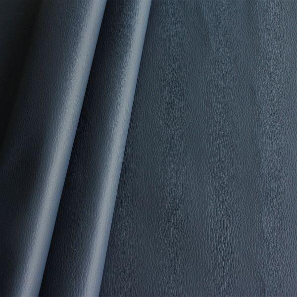 Polster PVC Kunstleder Rindsleder Optik Navy-Blau