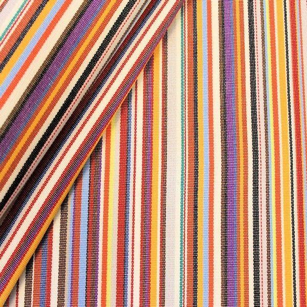 """Markisen Outdoorstoff """"Streifen"""" Artikel Sicilia Multicolor 1"""