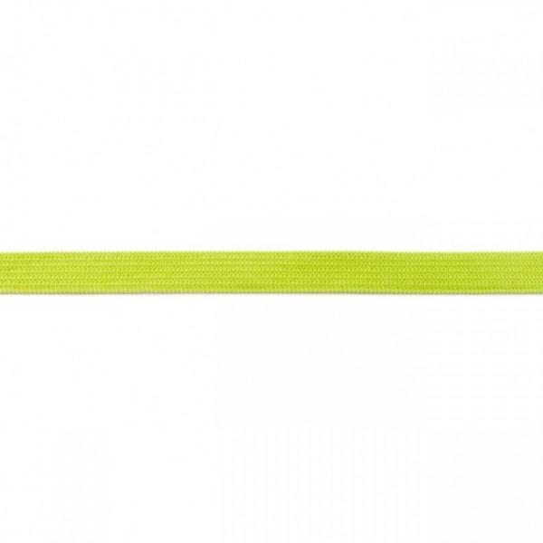 2m Elastikband Breite 10mm Farbe Dunkel-Lime