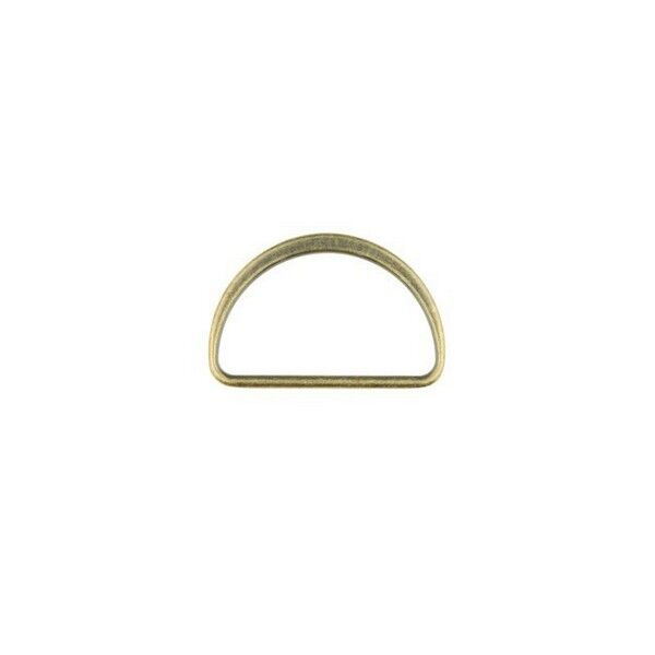 D-Ring 40mm Farbe Messing
