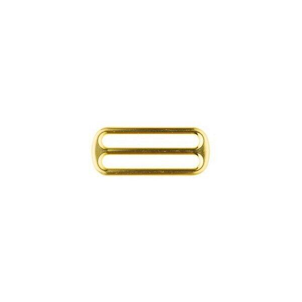 Leiterschnalle 40mm Farbe Gold