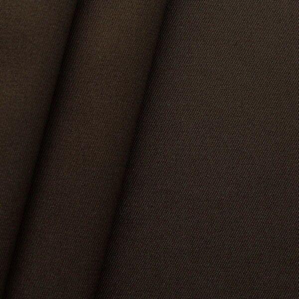 """100% Baumwoll Köper """"Fashion Standard"""" Farbe Dunkel-Braun"""