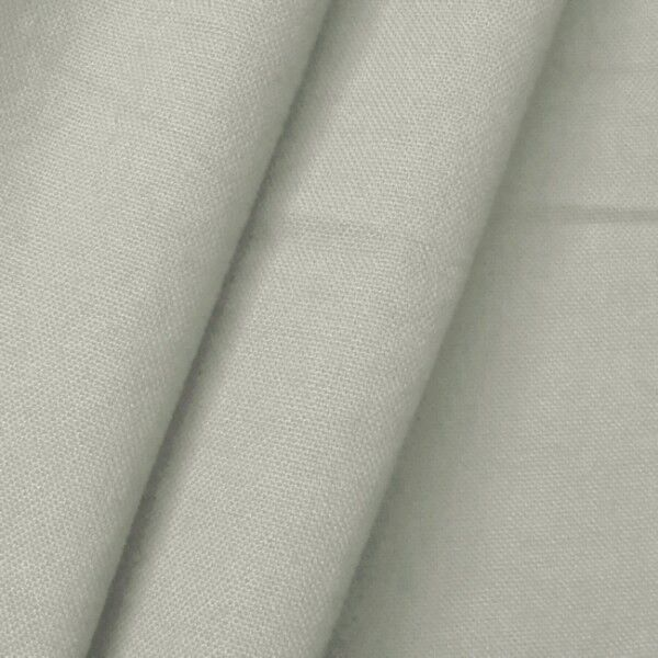 100% Baumwolle Canvas Farbe Hell-Grau