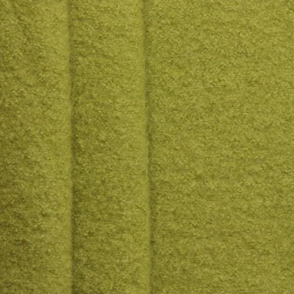 100% Wolle Walkloden Farbe Lind-Grün