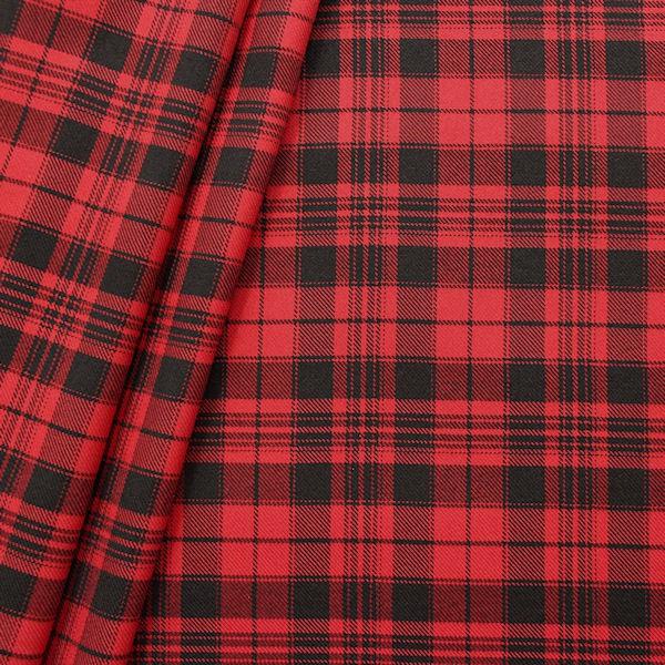 modestoff dekostoff schottenkaro classic 5 farbe rot schwarz karos gemusterte stoffe. Black Bedroom Furniture Sets. Home Design Ideas