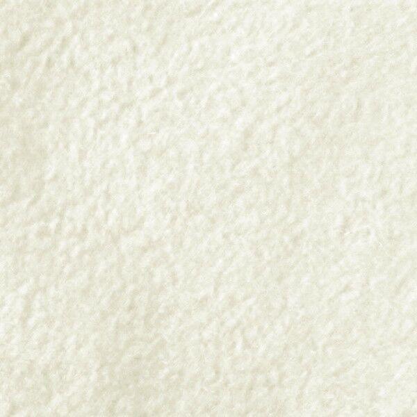 Polar Fleece antipilling Farbe Creme-Weiss