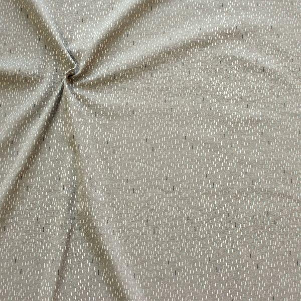 Baumwoll Stretch Jersey Strokes Grau