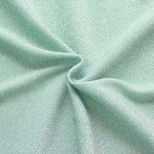 Lurex Jersey Glitter Mint