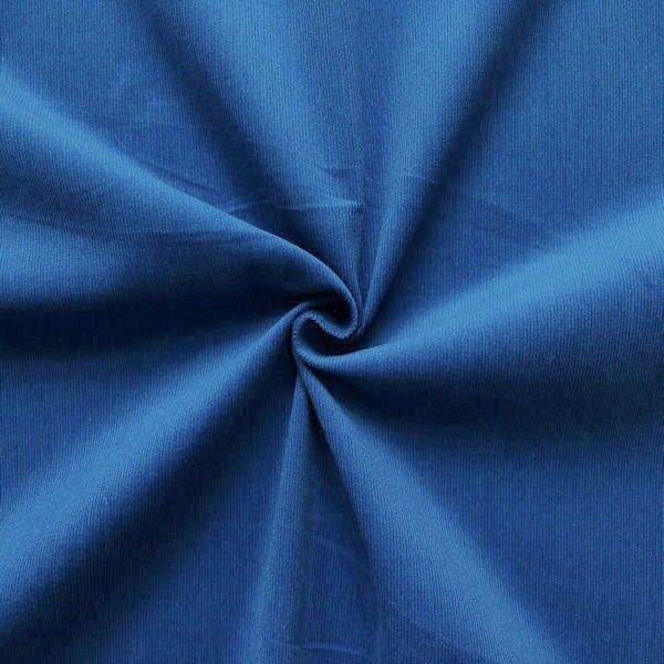Baumwolle Feincord Babycord Blau