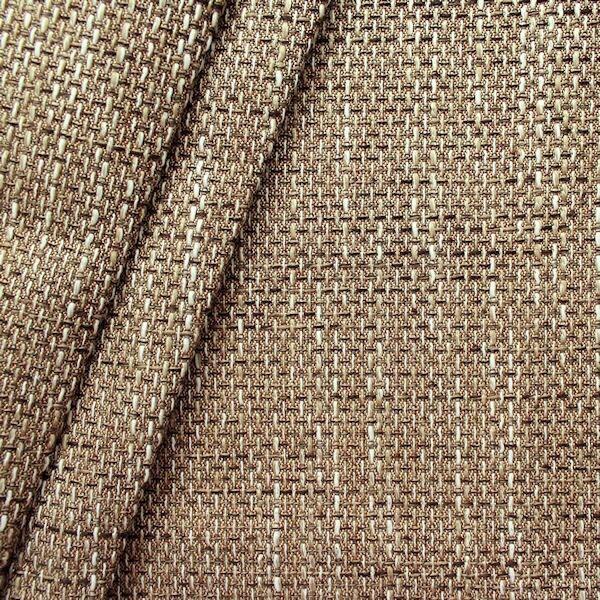 Polster- Möbelstoff Bouclé Optik Artikel Lawa Farbe Beige-Braun