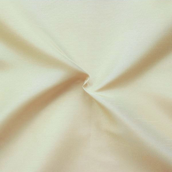 3,00 Meter Kleider- / Deko Taft Dupionseide Optik Farbe Beige