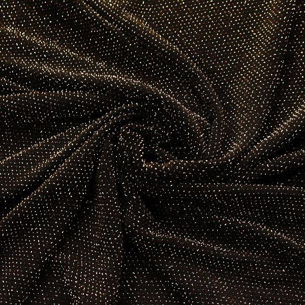 Slinky Jersey Glitzer Gold