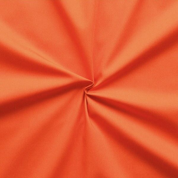 "100% Baumwolle Popeline ""Fashion Standard 2"" Farbe Orange"