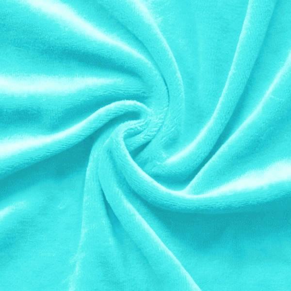 Nicki Baumwollstoff Blau