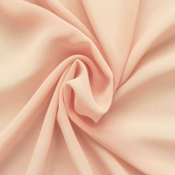 Polyester Chiffon Farbe Lachs