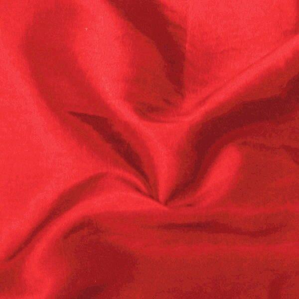 Kleider / Deko Taft Farbe Karmin-Rot