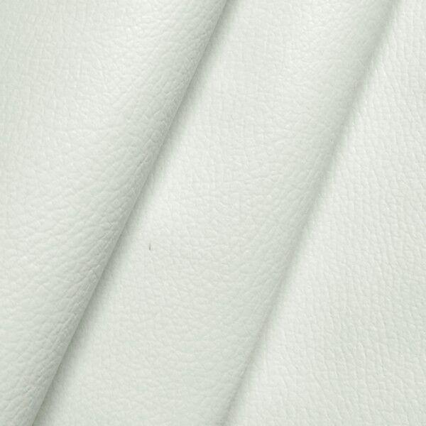 """Polster PVC Kunstleder """"Rindsleder Optik"""" Farbe Schnee-Weiss"""