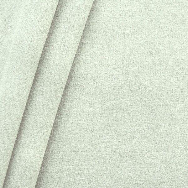 Polster-/ Möbelstoff Artikel Durban Schurwoll-Optik Farbe Weiss-Grau