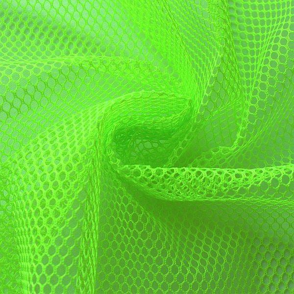 Mesh Netzstoff Neon-Grün
