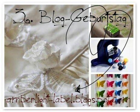 Bloggeburtstag Amberlight