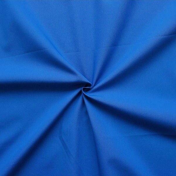 """100% Baumwolle Popeline """"Fashion Standard 2"""" Farbe Royal-Blau"""