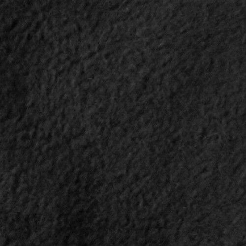 Polar Fleece antipilling Farbe Schwarz