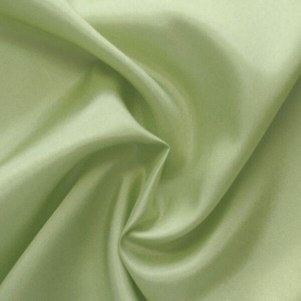 Acetat Taft Futterstoff Farbe Lind-Grün 2