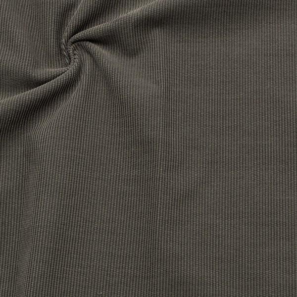 Baumwolle Feincord Babycord Schiefer-Grau