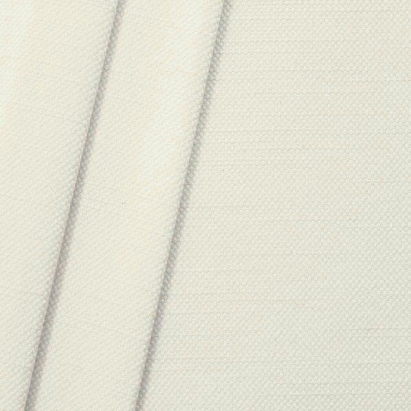 Polster- Möbelstoff Artikel Livento Leinen-Baumwolle Optik Farbe Creme-Weiss
