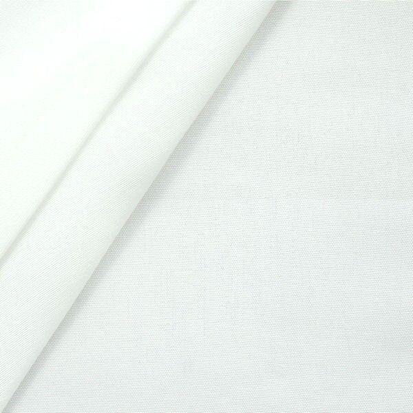 Liegestuhl / Outdoorstoff Breite 45cm Farbe Weiss