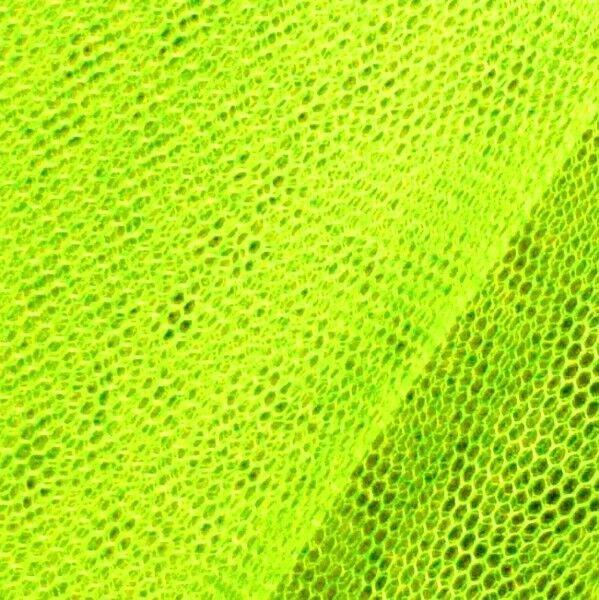 Tüll Stoff Farbe Neon Gelb