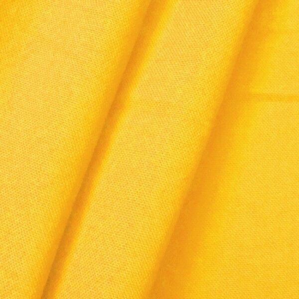 100% Baumwolle Canvas Farbe Gelb