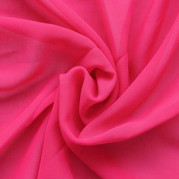 Polyester Chiffon Farbe Pink