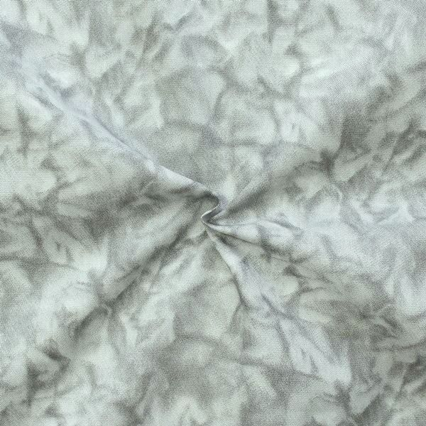 "100% Baumwollstoff ""Batik Optik"" Farbe Hell-Grau"