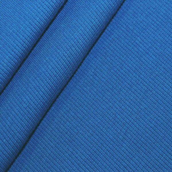 Bündchenstoff Blau