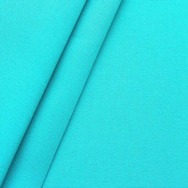 Markisen Outdoorstoff Breite 160cm Farbe Türkis-Blau
