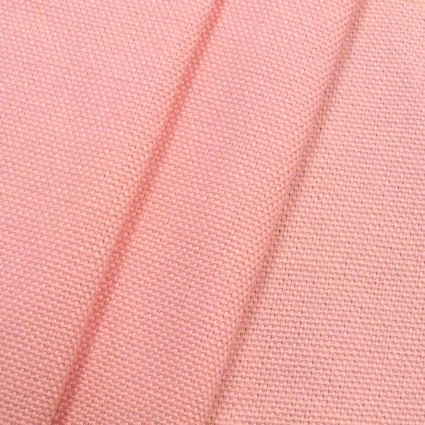 100% Baumwolle Canvas Farbe Rosa