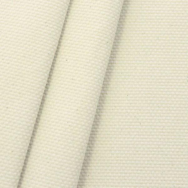 100% Baumwolle Panama schwere Qualität Ecru Natur