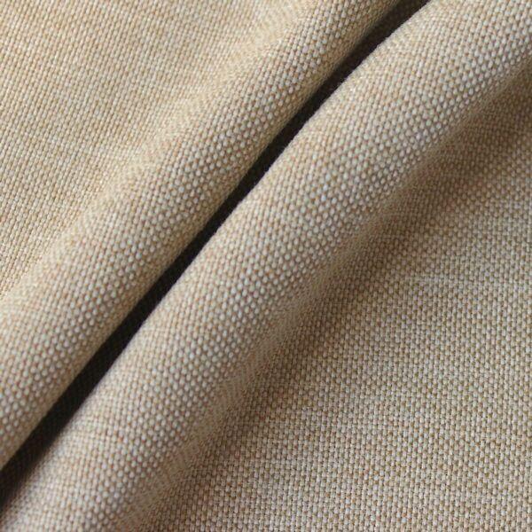 Polster- Möbelstoff Natur-Beige meliert