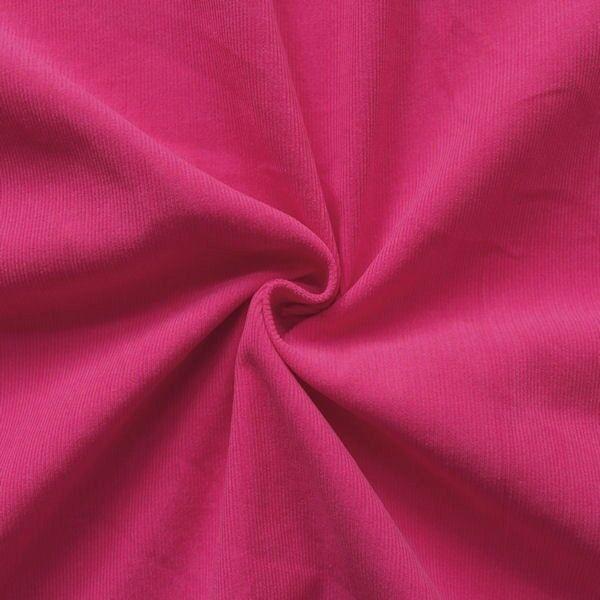 Baumwolle Feincord Babycord Pink