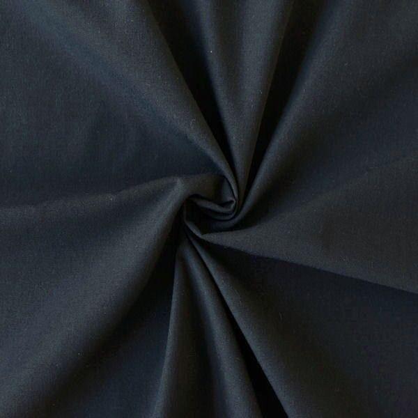 Baumwolle wie Batist Blau