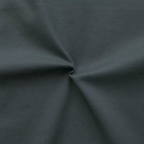 Stretch Baumwolle Köper Farbe Dunkel-Grau