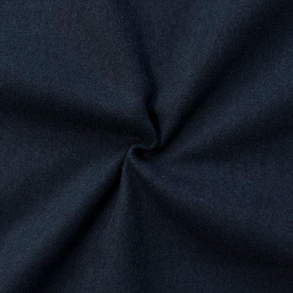 Wollstoff Winter Basic Dunkel-Blau